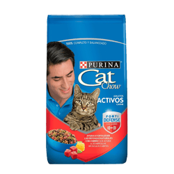CAT CHOW® Adulto activo con carne 1.5kg
